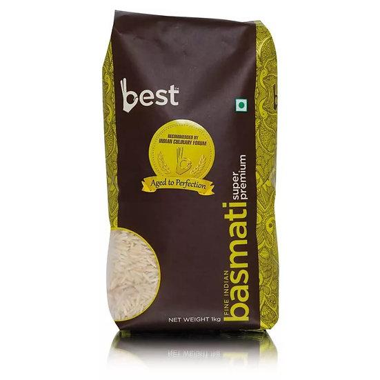 Рис басмати Super Premium 1 кг, Best