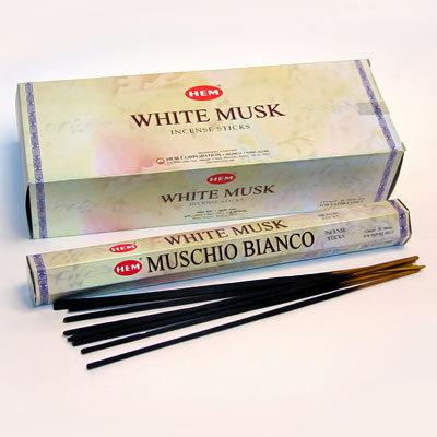 Благовония Муск белый (White Musk) HEM