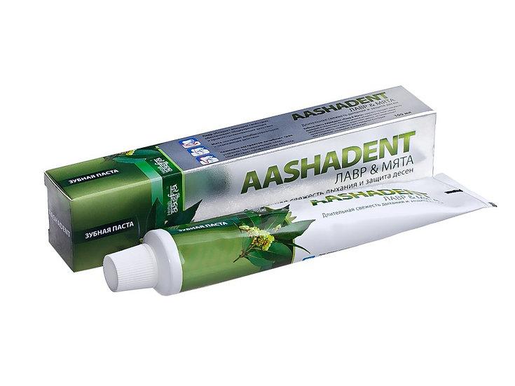 Зубная паста Лавр & Мята Aasha Herbals, 100гр
