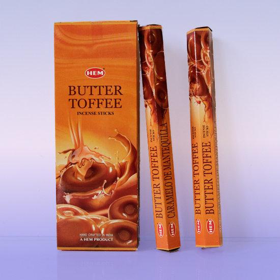 БЛАГОВОНИЯ HEM Молочная карамель (Butter toffee)
