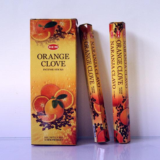 Благовония Апельсин Гвоздика (Orange Clove) НЕМ