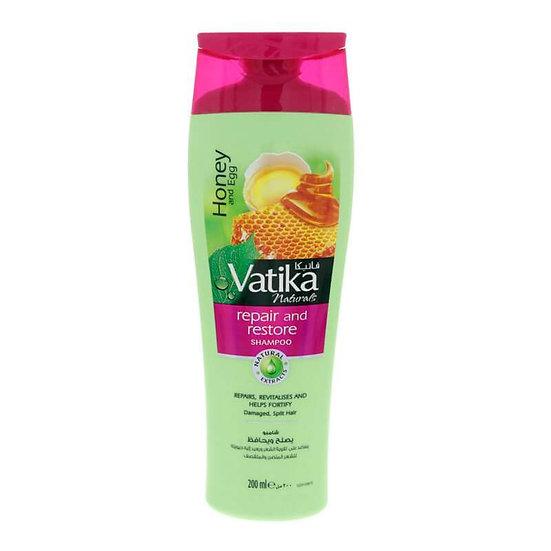 Шампунь для волос Vatika Honey & Egg 200ml. Для поврежденных волос. (Мёд и яйцо)