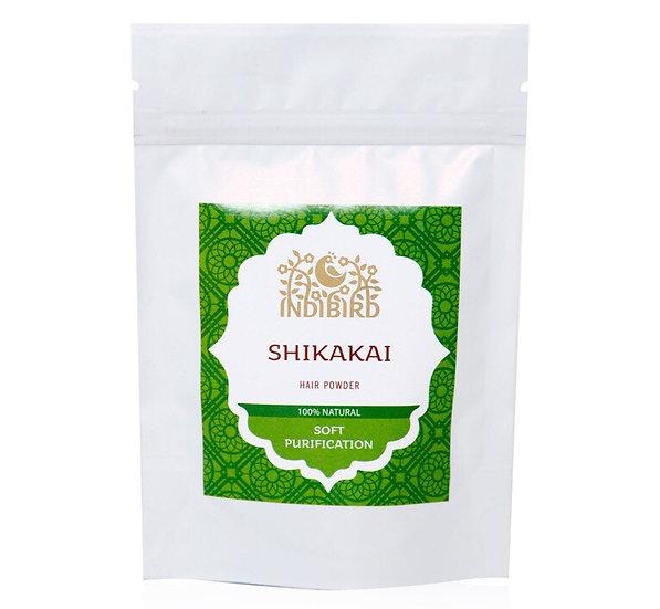 ШИКАКАЙ ПОРОШОК МАСКА ДЛЯ ВОЛОС (Shikakai powder) Indibird, 50г.