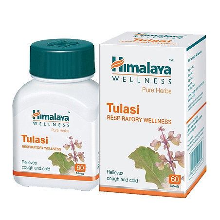 ТУЛАСИ (Tulasi) Himalaya 60 таблеток