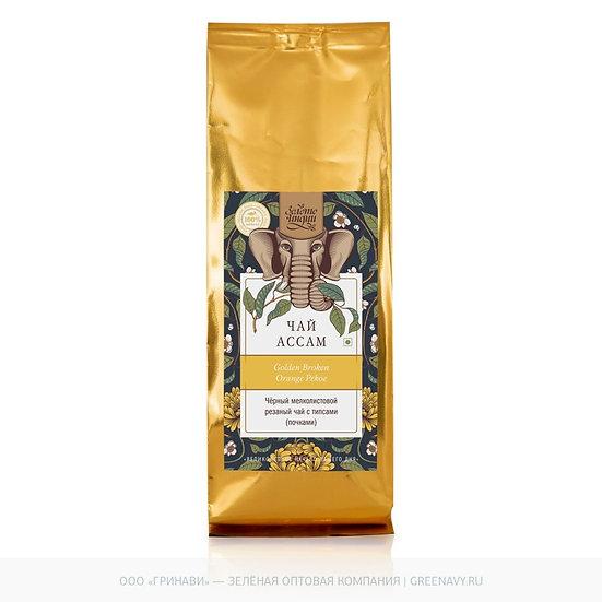 Чай чёрный мелколистовой ASSAM GBOP 100 г в фольге