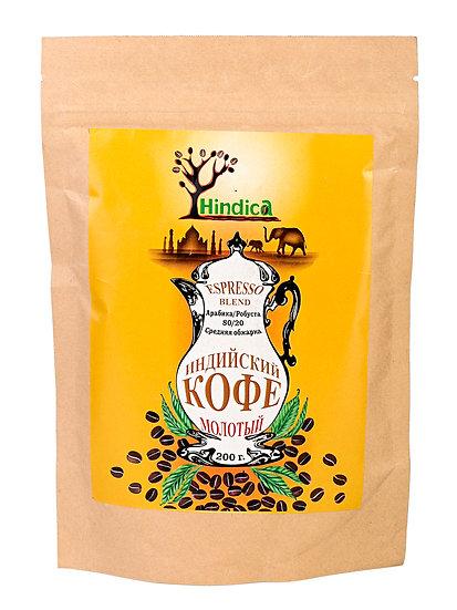 Индийский кофе молотый Espresso Blend 100г