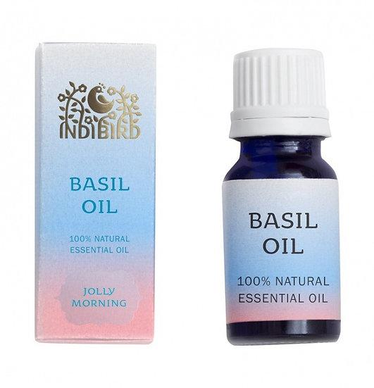 БАЗИЛИК ЭФИРНОЕ МАСЛО (Basil Oil) Indibird, 5мл