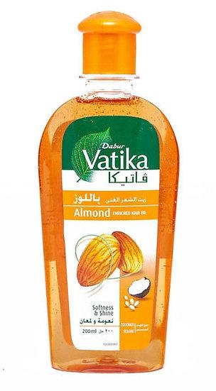 МАСЛО для волос Миндаль Almond Hair Oil, Dabur Vatika, 200мл