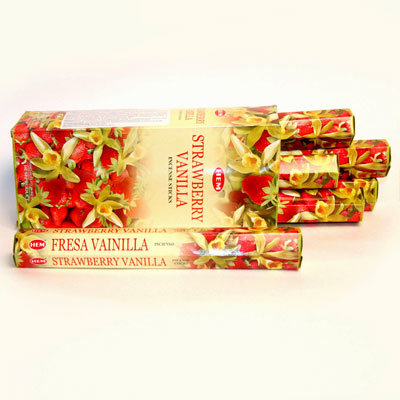 Благовония Ваниль с клубникой (Strawberry Vanilla) НЕМ