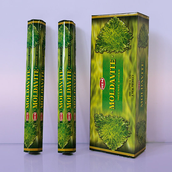 БЛАГОВОНИЯ Молдавит (Hexa Moldavite), HEM