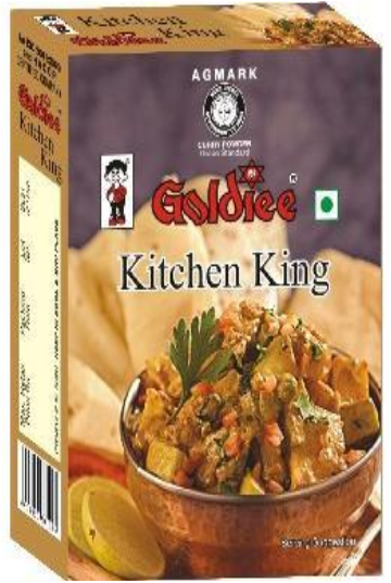 КОРОЛЕВСКАЯ МАСАЛА (Kitchen King Masala) Goldiee, 100 г
