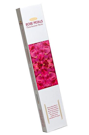 Ароматические палочки Лепестки Розы (Rose petals) 10 шт.