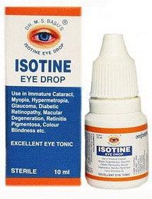 АЙСОТИН (Isotine) Jagat Pharma, 10 мл