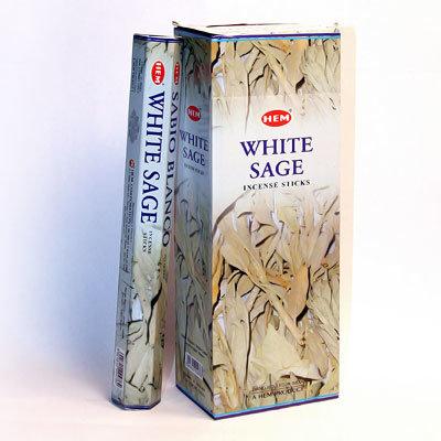 БЛАГОВОНИЯ Белый Шалфей (Hexa White Sage), HEM