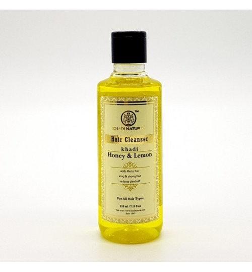 Шампунь для волос Khadi Honey & Lemon. Для всех типов волос (Кхади Мед и лимон)
