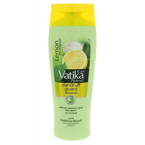 Шампунь для волос Vatika Lemon & Yoghurt 200ml. Против перхоти (Ватика Лимон)