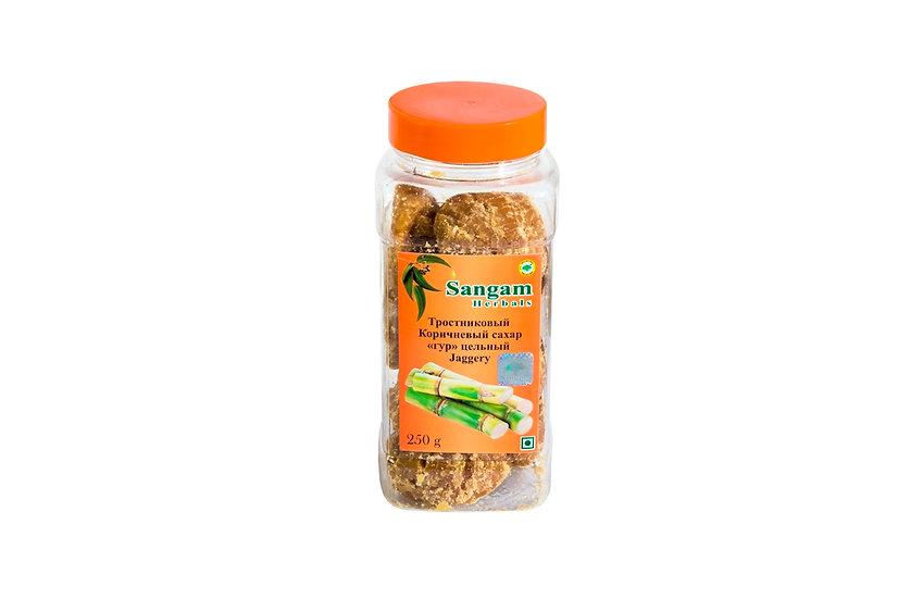Тростниковый сахар ГУР кусочками 250г