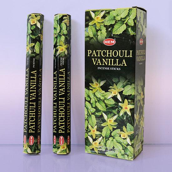Благовония Пачули с Ванилью (Patchouli Vanilla) HEM
