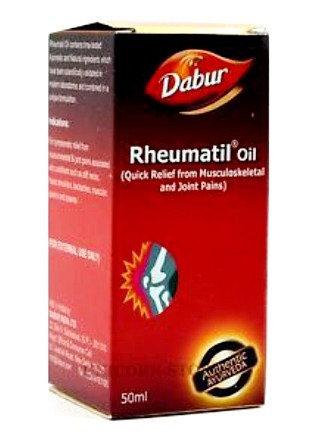 РЕВМАТИЛ лечебное масло для суставов (Rheumatil Oil) Dabur, 50 мл.