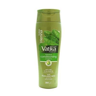 Шампунь Vatika Indian Henna 200 ml. Для сухих и поврежденных волос. (Ватика Хна)