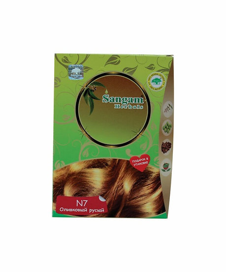 Хна Sangam оливковый русый (Сангам Хербалс)