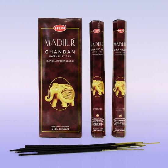 Благовония Сандал Мадхур (Chandan MADHUR) HEM