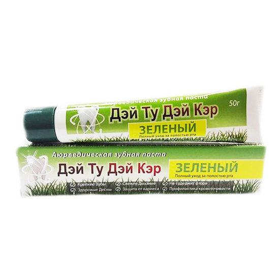 Day 2 Day Care Зубная паста Зелёная 50 гр.