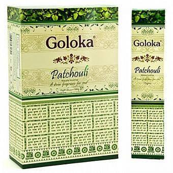 Благовоние пачули Goloka Patchouli