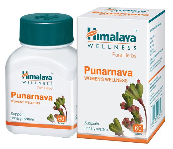 ПУНАРНАВА Punarnava Himalaya 60 таблеток