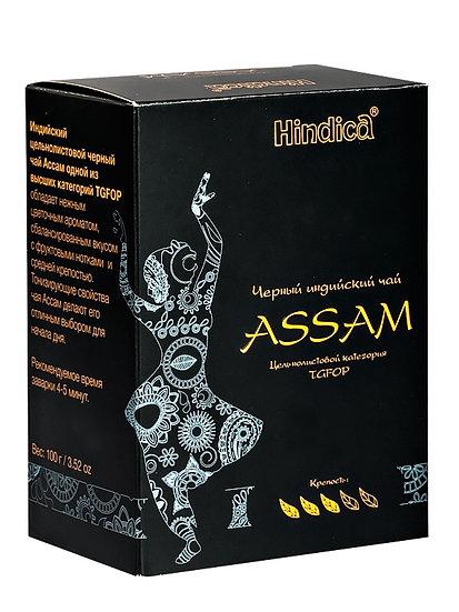 Чай черный ASSAM (TGFOP) 100г.
