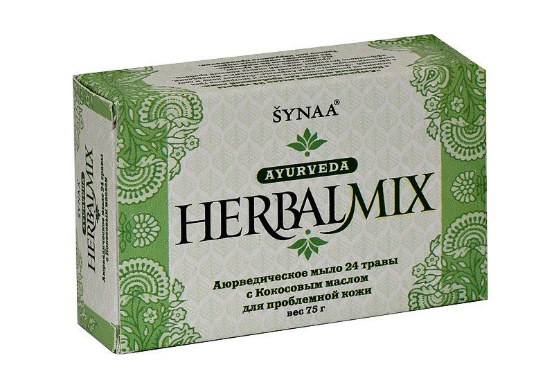 Аюрведическое мыло 24 травы с Кокосовым маслом 75 г.
