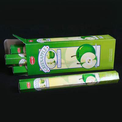 БЛАГОВОНИЯ HEM Зелёное Яблоко (Hexa Green Apple)