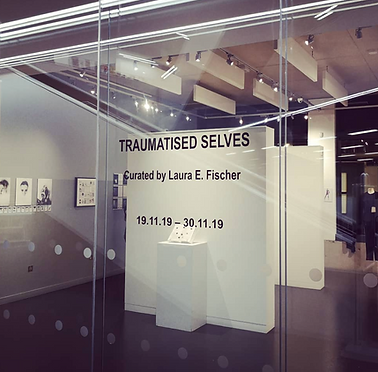 Trauma art exhibition