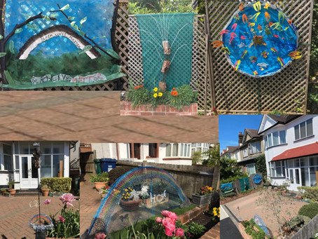 Front Garden Sculptures by Michael