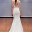 "Thumbnail: Alyne by Rita Vinieris ""Everly"" gown with all-over lace and deep v-neckline"