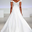 """Thumbnail: Anne Barge """"Reid"""" off-the-shoulder modified A-line gown"""
