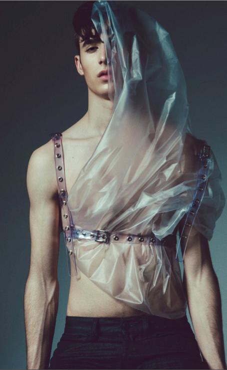 Plastic accessories in Rude magazine