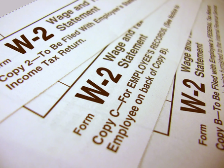 W-2 Phishing Scam Targeting Tax Payers