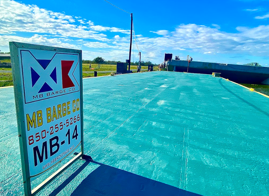 MB14 Spud Barge