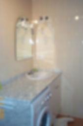 La salle de bains (détail)