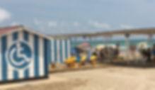 Accès à la plage de CANET D'EN BERENGUER - ACCES HANDICAPE
