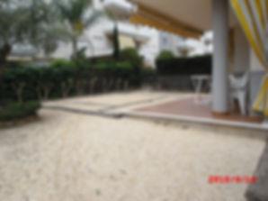 La terrasse - Le jardin de l'appartement
