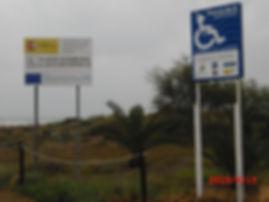 Plage de CANET D'EN BERENGUER - Accès handicapés