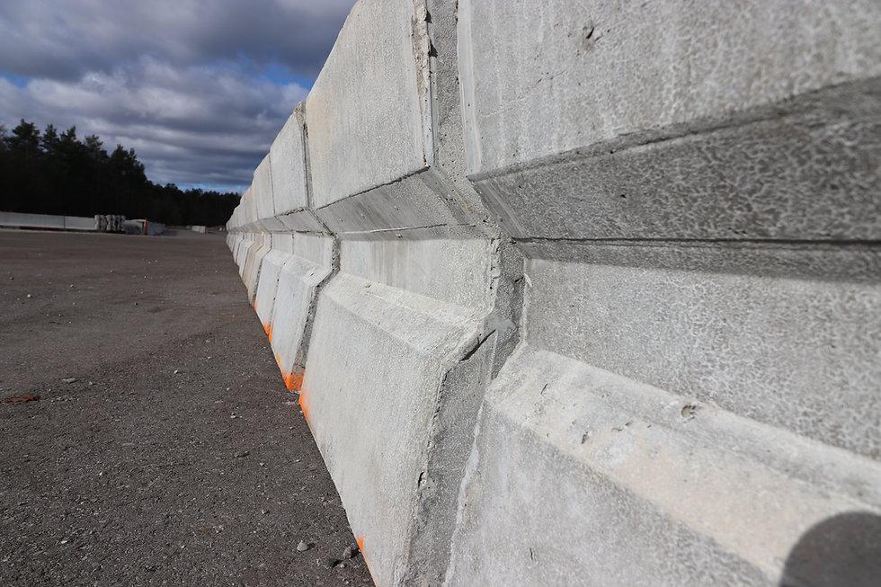 A contruction barrier