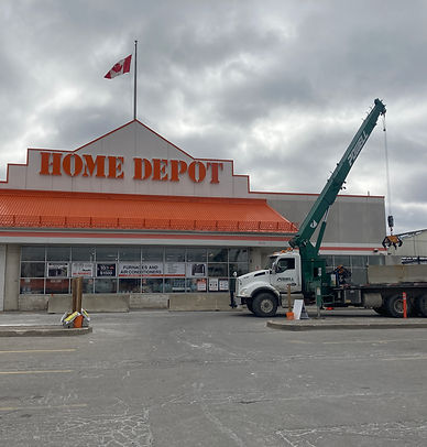 Retail Store - Home Depot - Infrastructure Staging