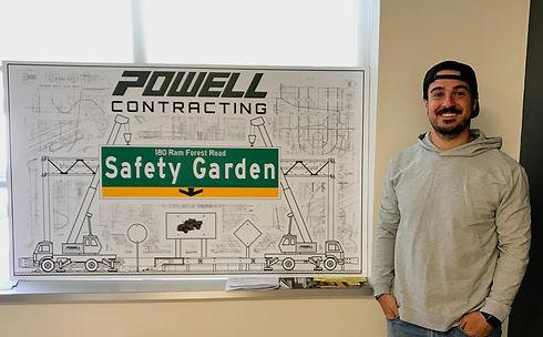 Safety Garden - Blueprint example photo