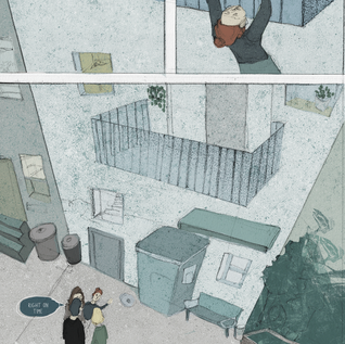 V&A: I (DON'T) DESERVE TO BE HERE 2019 (COMIC)