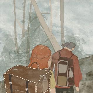 NEW YEARS TRIP (ILLUSTRATION)