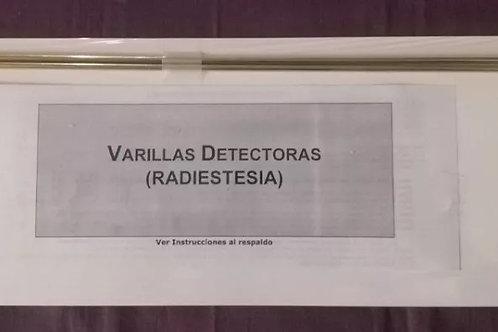 VARILLAS DE RADIESTESIA