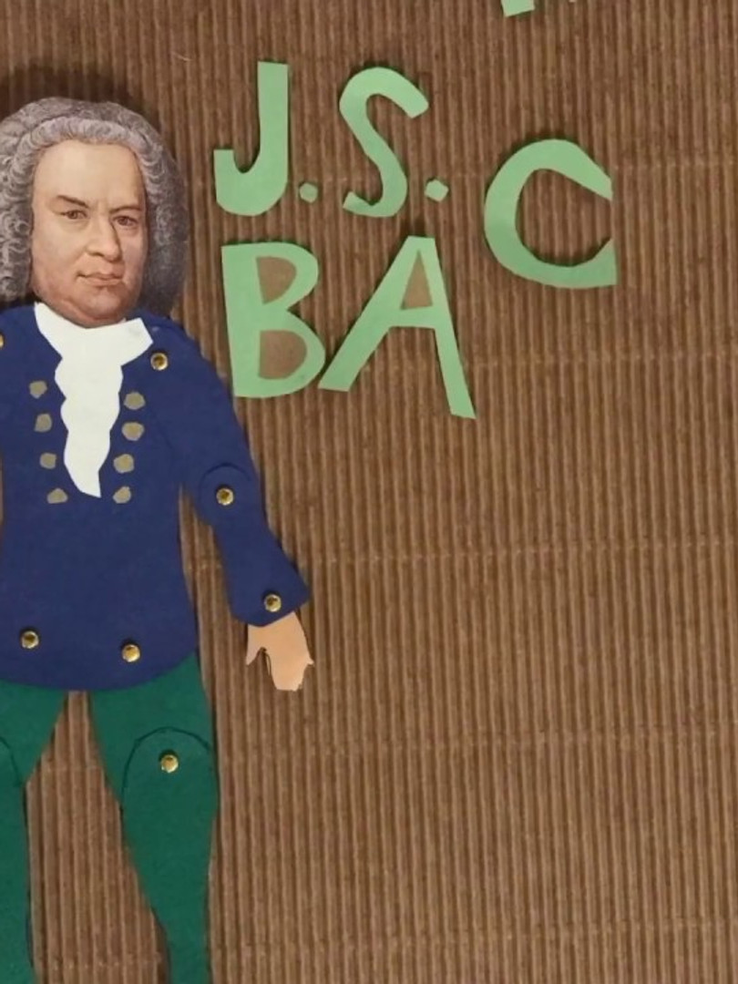 J.S. Bach: A Stop Motion Video